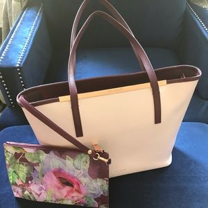 Ted Baker 2 piece tote set